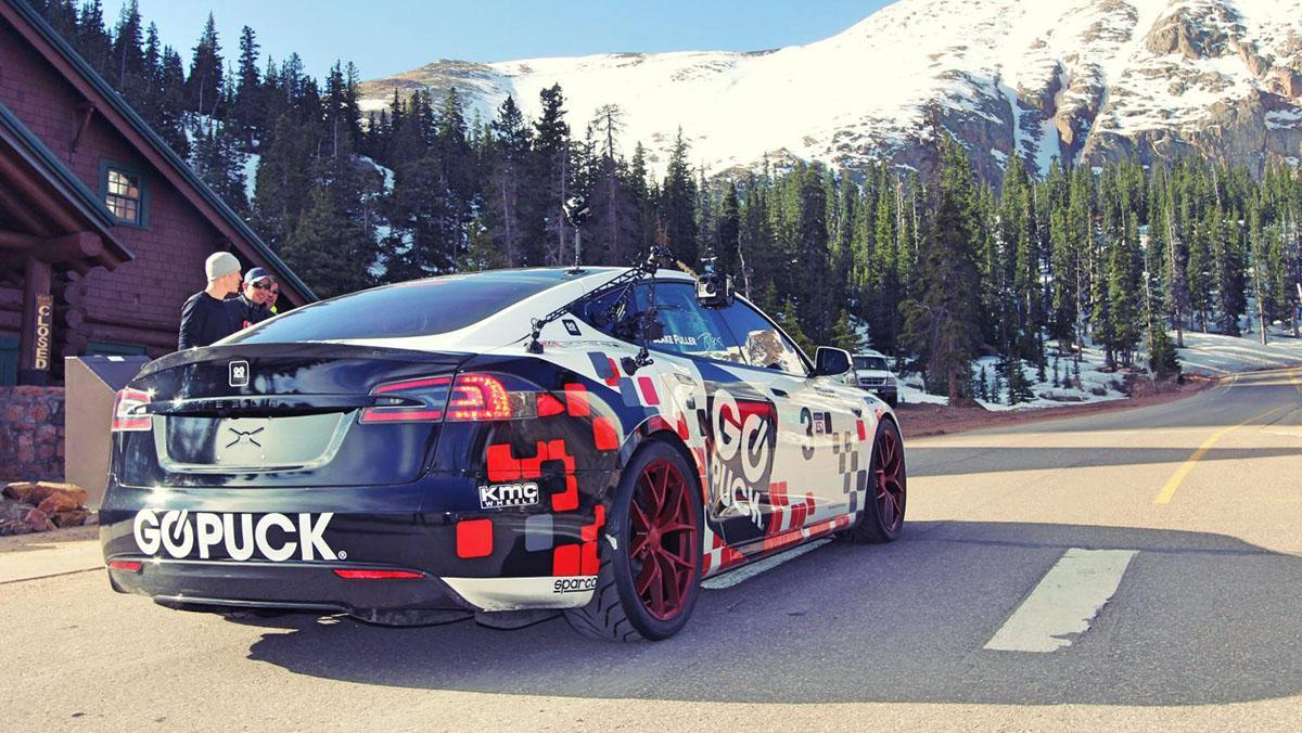 El Tesla Model S conquista Pikes Peak