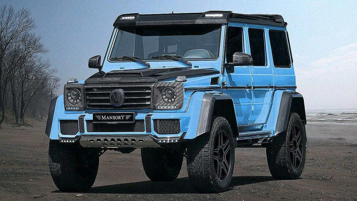 Tuning: el Mercedes más radical. Mansory G500 4x4²