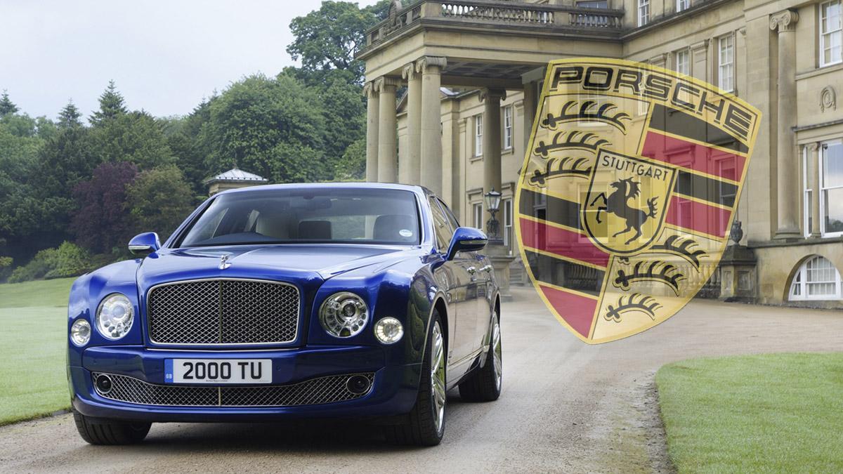 El Bentley Mulsanne tendrá V8 de Porsche