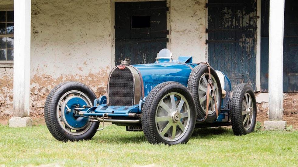 Bugatti Type 51 Nuvolari clásico F1 deportivo