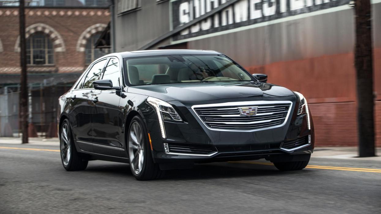 Cadillac CT6 frontal