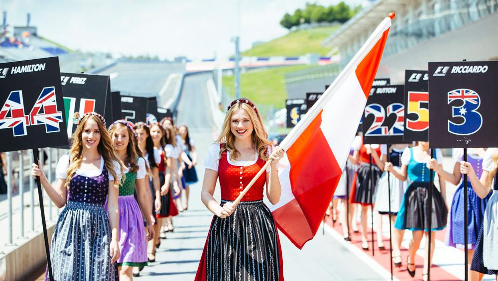 Chicas GP Austria F1
