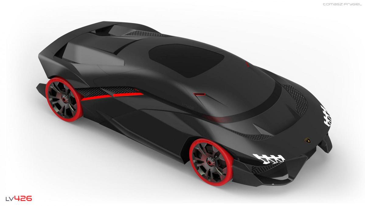 Concept Lamborghini Tomasz Prygiel (I)