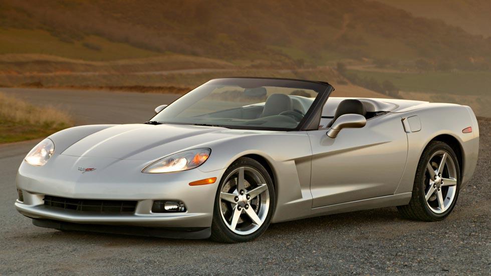 Corvette C6 cabrio descapotable deportivo