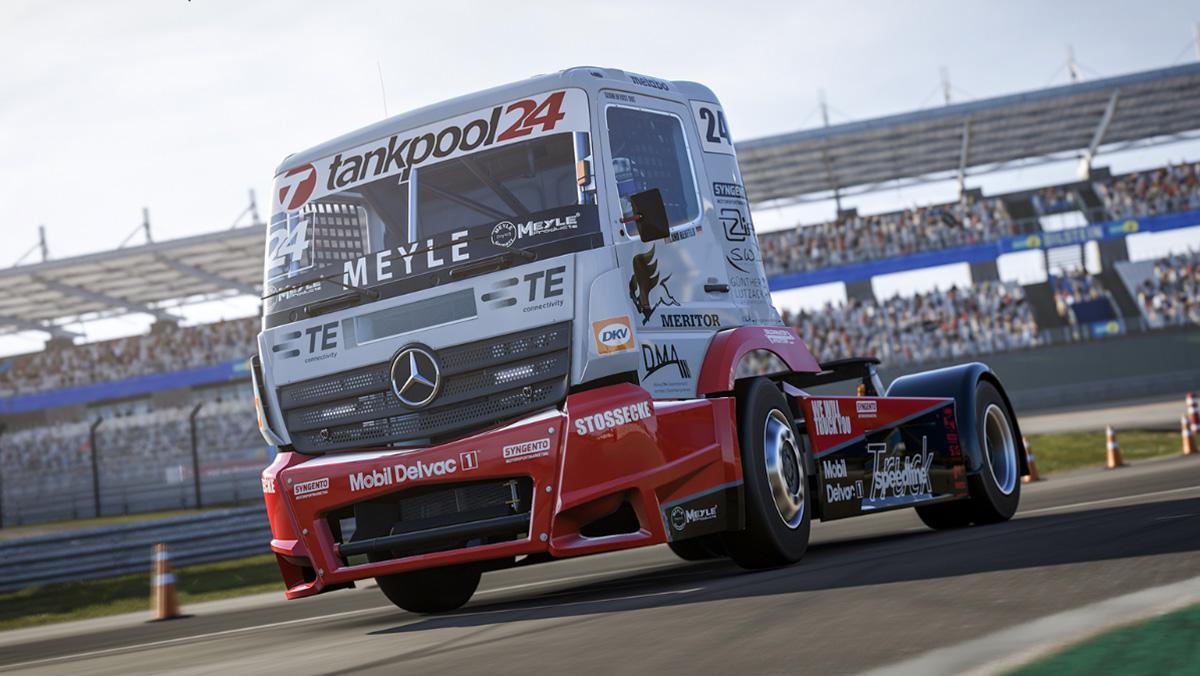Por fin un camión del ETRC llega a Forza 6
