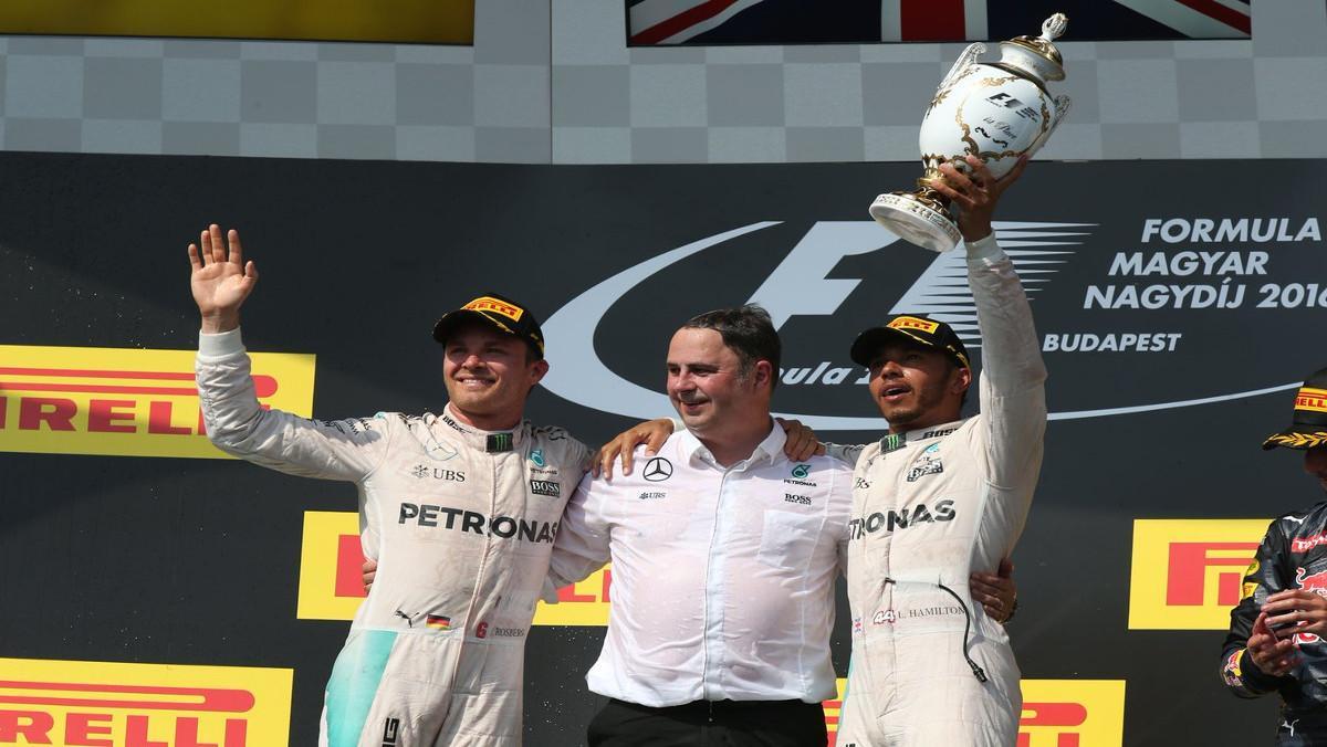 Hamilton vence en Hungría 2016