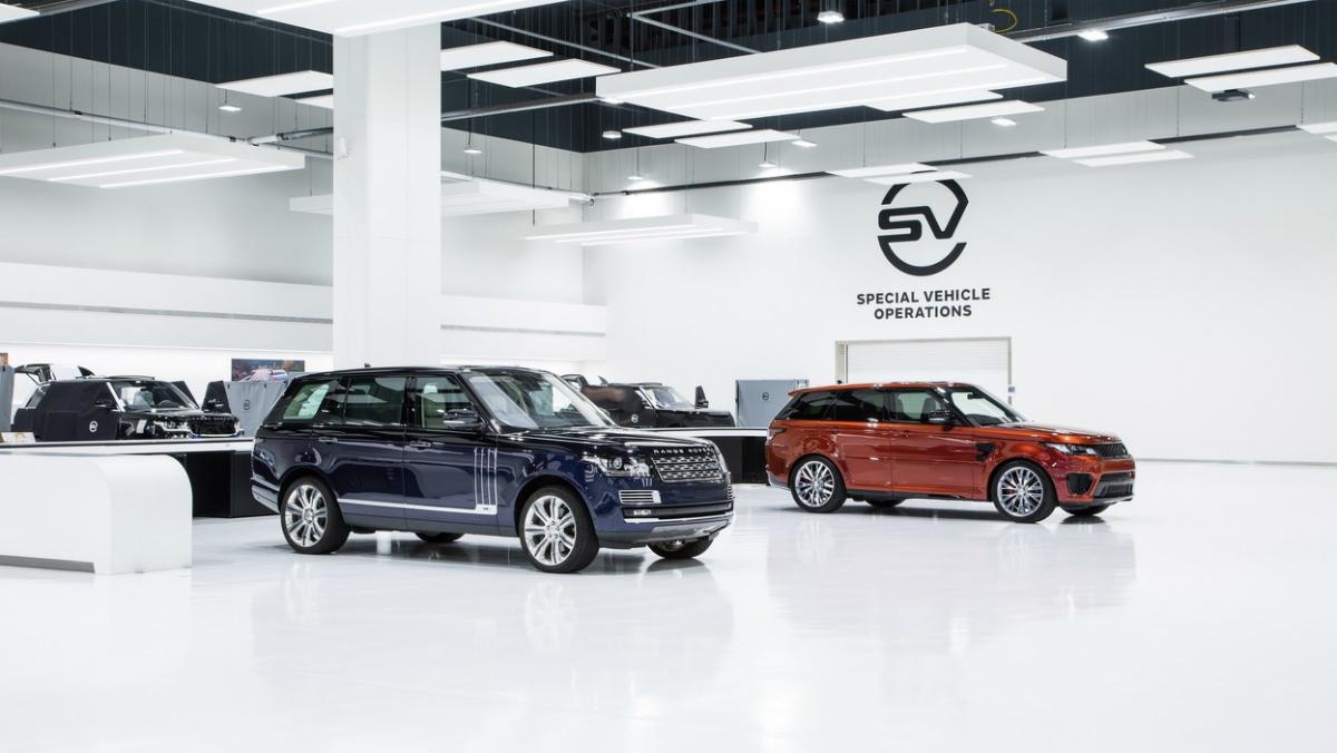 Jaguar Land Rover SVR