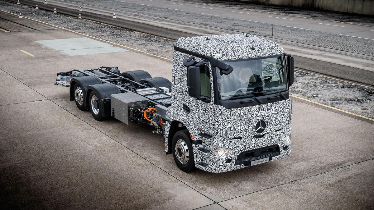 Mercedes-Benz Urban e-Truck (II)