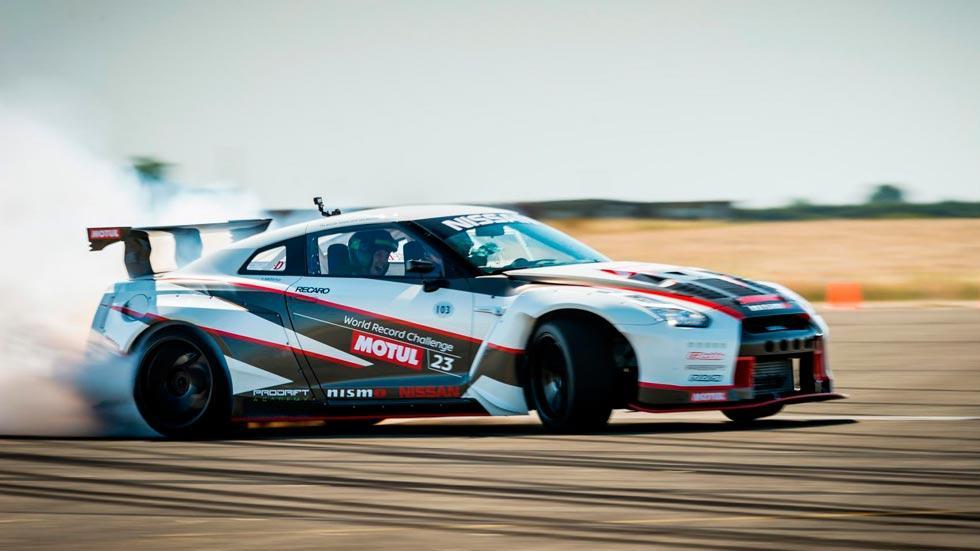 Nissan GT-R Drift record deportivo