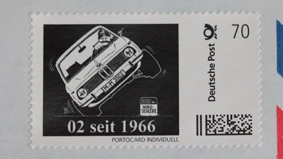Sello BMW 2002 cartas