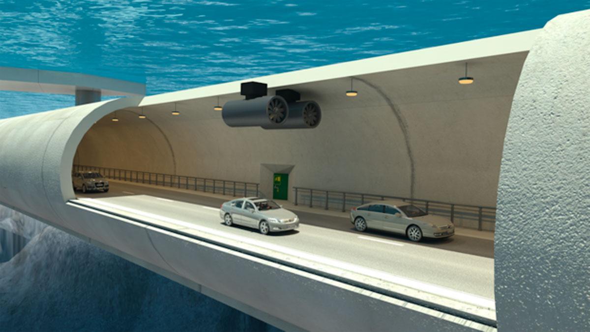 túnel submarino Noruega