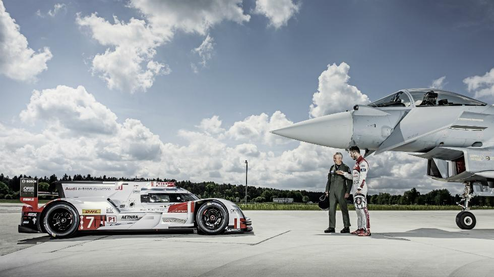 Audi R18 e-tron Vs Eurofighter Typhoon