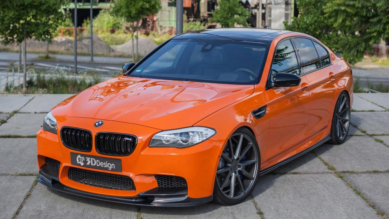 BMW M5 Carbonfiber Dynamics (I)