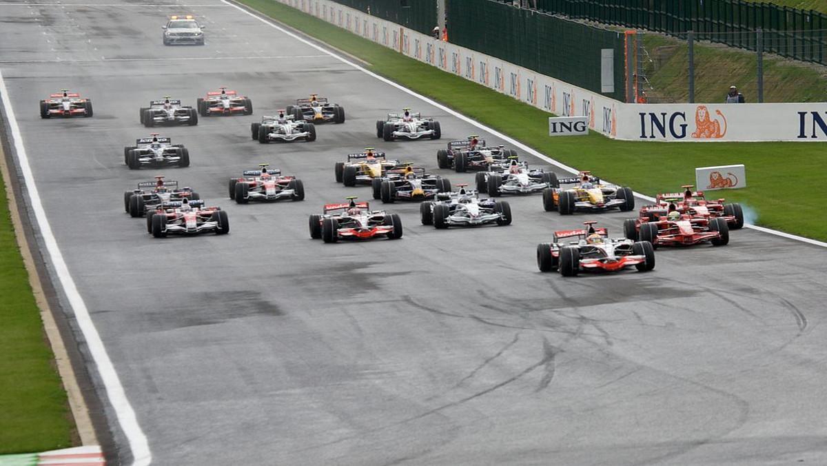 Los datos del GP de Bélgica
