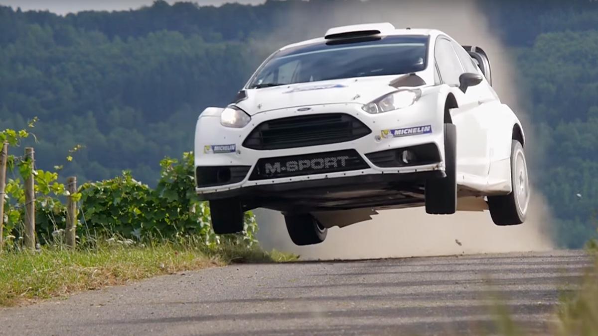 Ford Fiesta WRC al límite