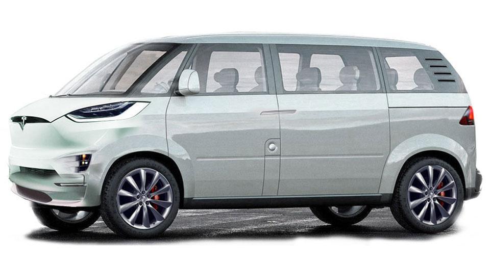 Minibús de Tesla