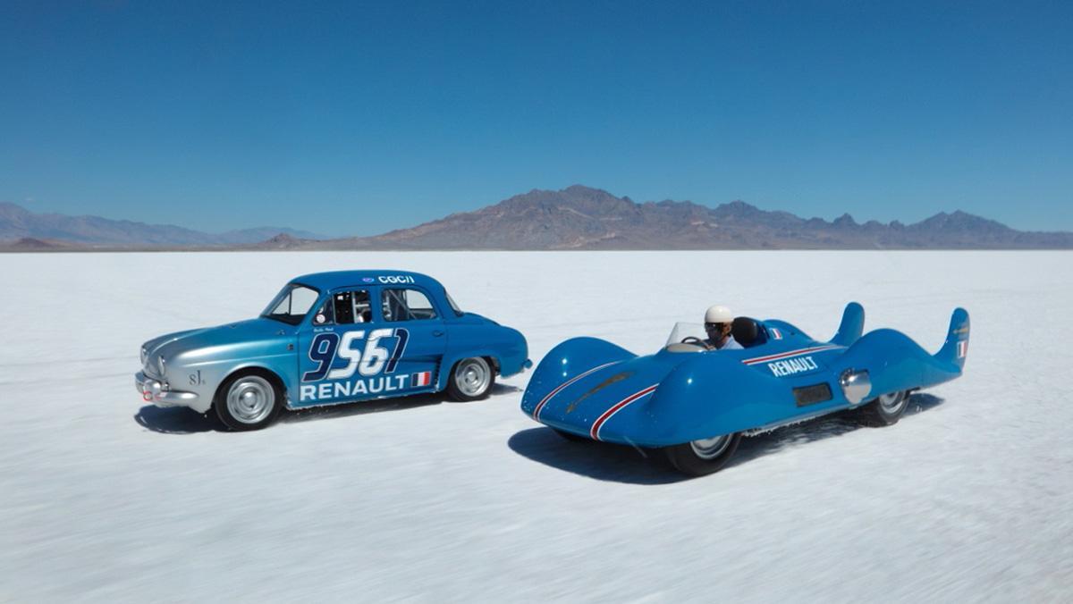 El Renault Étoile Filante regresa a Bonneville 60 años después
