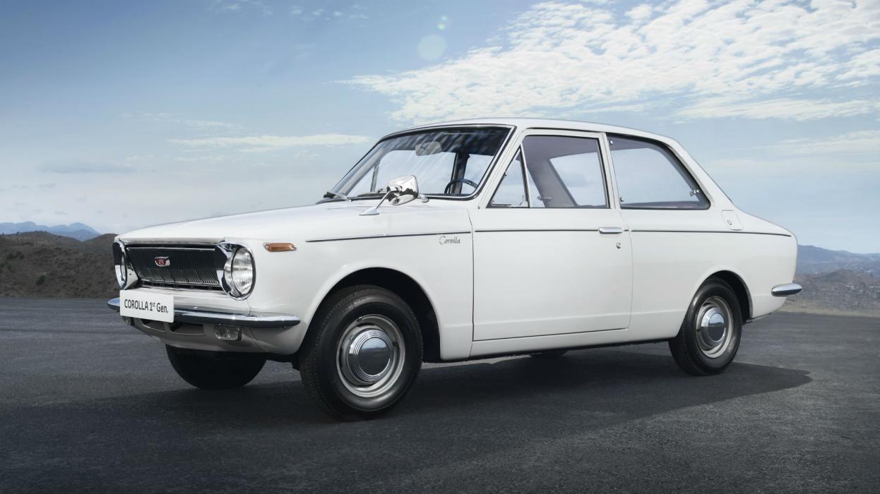 1966- Primera Generación Toyota Corolla