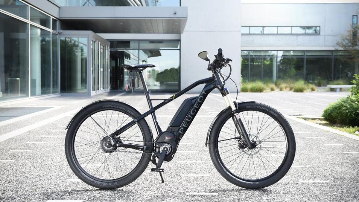Bicicleta eléctrica Peugeot eU01s (I)