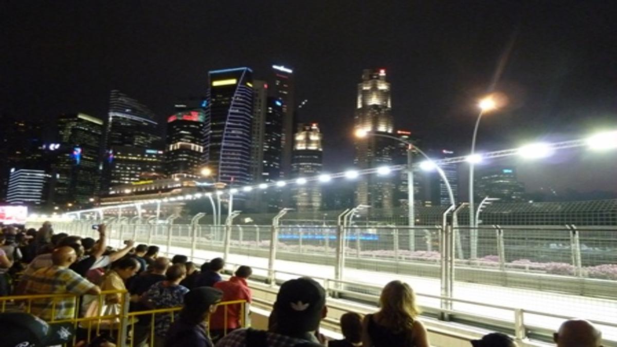 Los datos del GP de Singapur