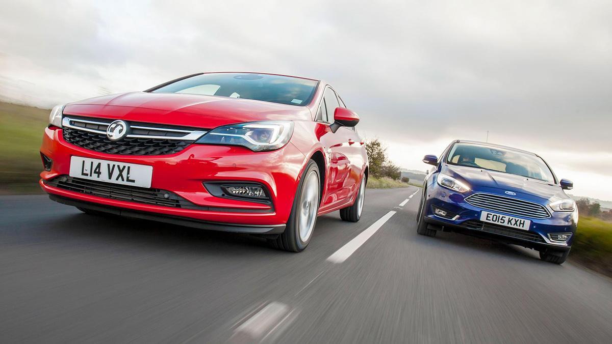 Duelo de compactos: Opel Astra contra Ford Focus