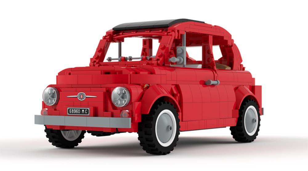 El Fiat 500 de LEGO que podría llegar a las tiendas