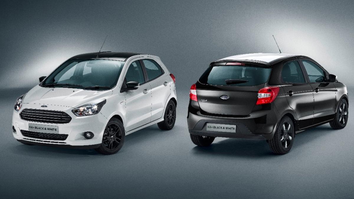Ford KA+ Black and White