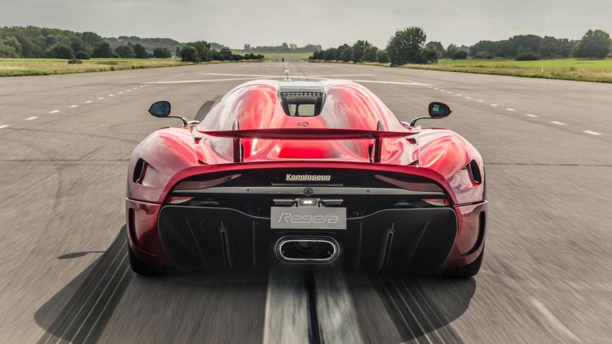 Koenigsegg Regera – 1.500 CV