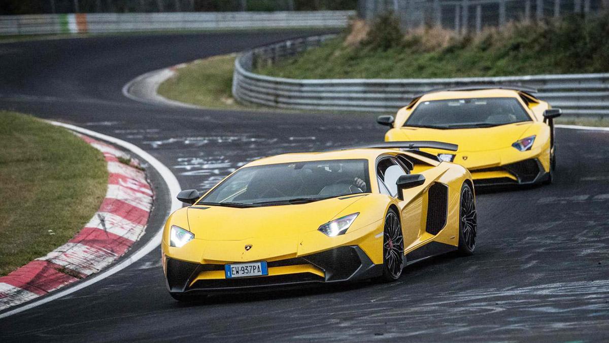 Lamborghini Aventador SV en Nürburgring: ahora con dirección trasera