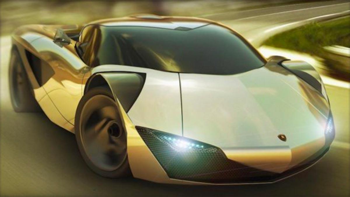 Lamborghini eléctrico deportivo hyperdeportivo futuro
