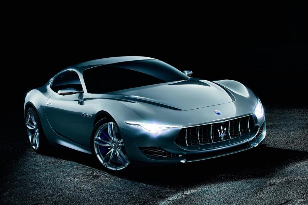 Maserati Alfieri Concept deportivo lujo futuro prototipo