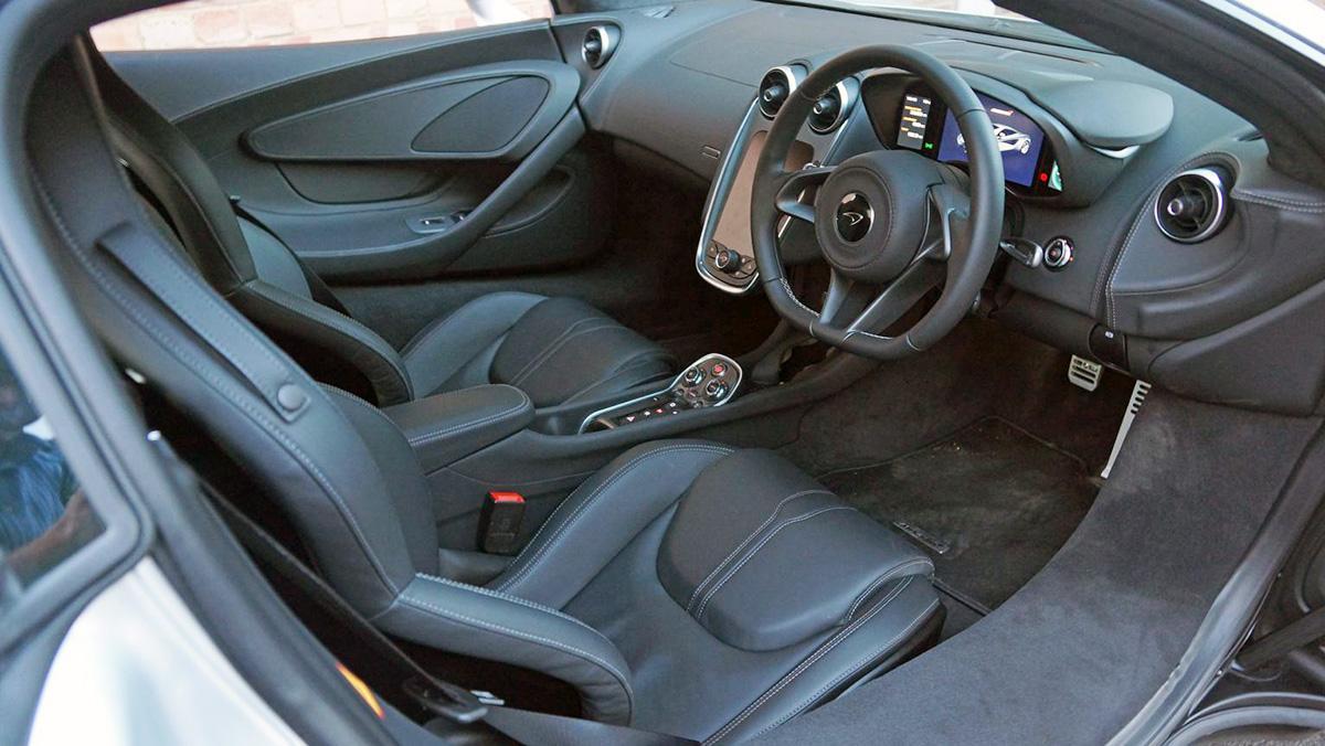 McLaren 540C al detalle