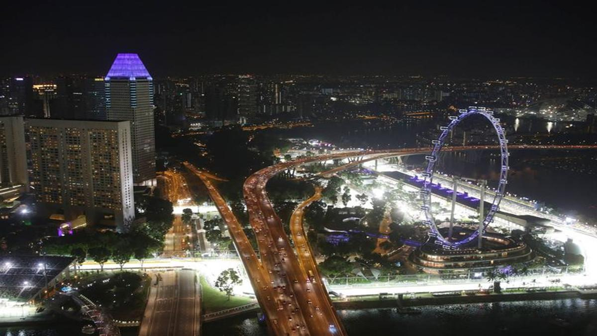 Los momentos más espectaculares del GP de Singapur