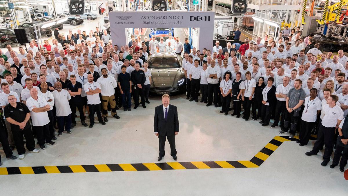 Producción Aston Martin DB11