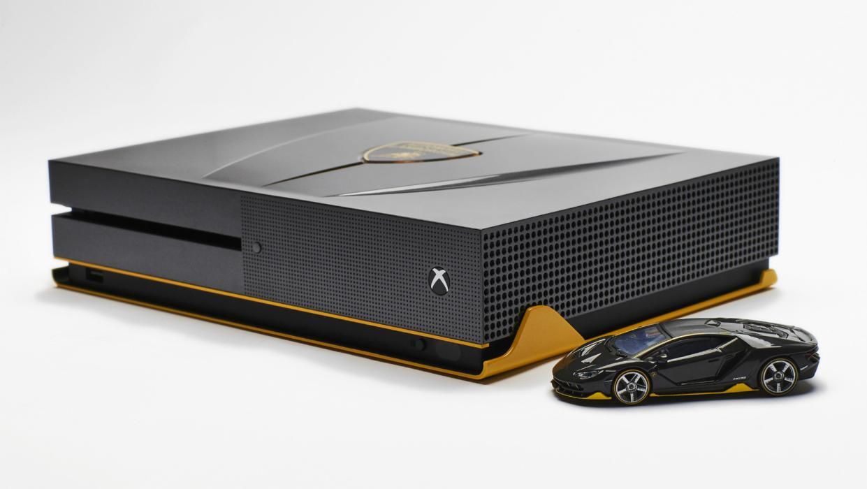Xbox One S del Lamborghini Centenario