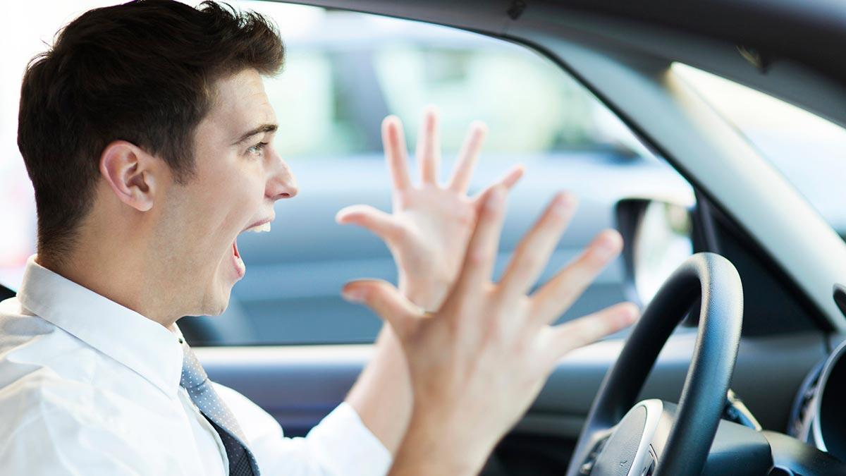 aprender a conducir conductor nervioso contento trucos