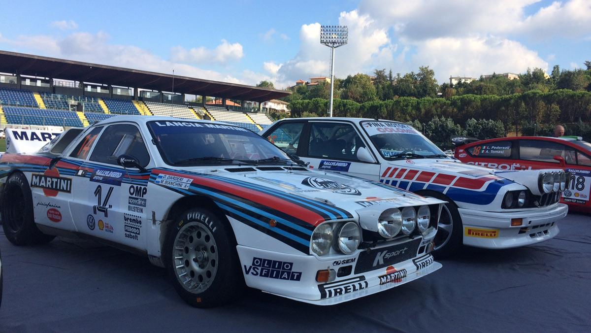 Coches Rallylegend 2016: Lancia Rally 037 (1984)