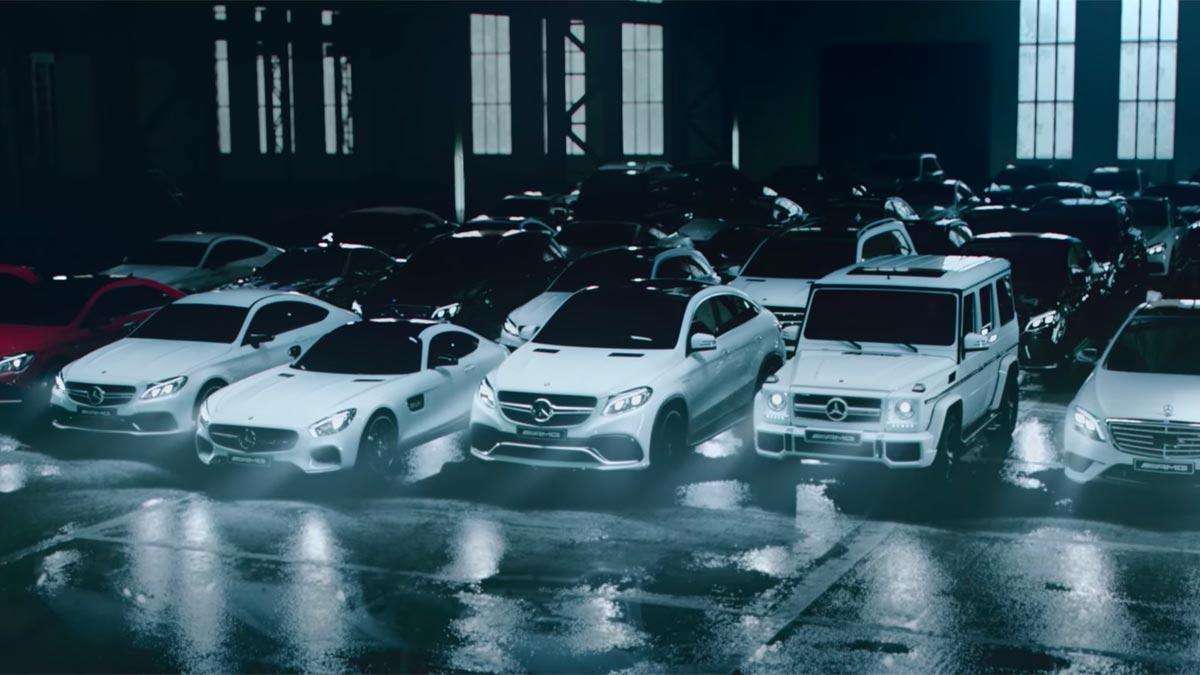 Gama Mercedes-AMG 2016 completa blancos