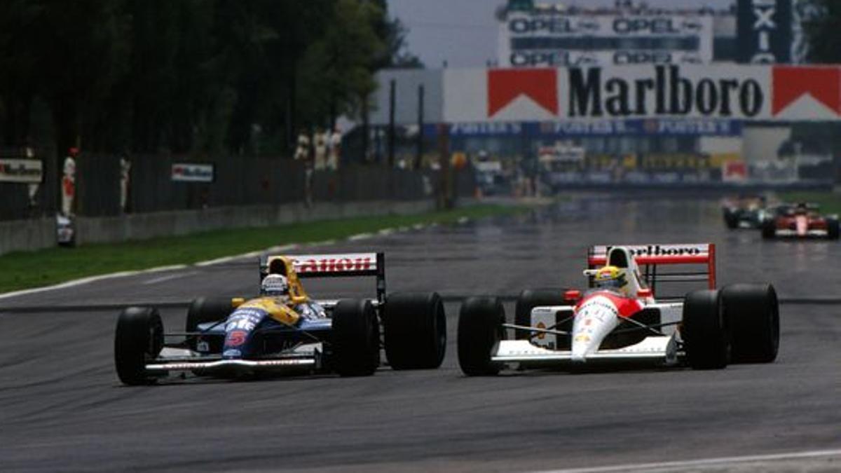 Los mitos de la F1 siempre han competido en el GP de MÉXICO