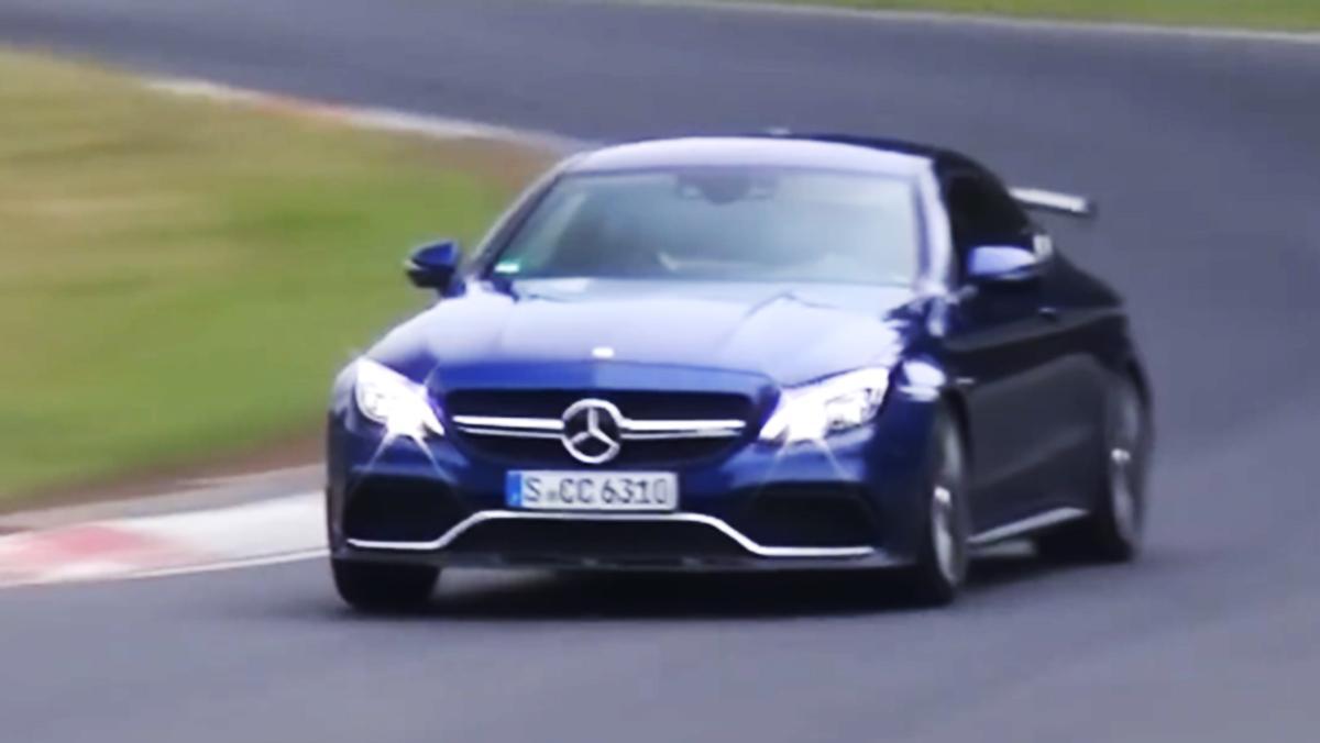 Un Mercedes-AMG C 63 S muy bruto en Nürburgring