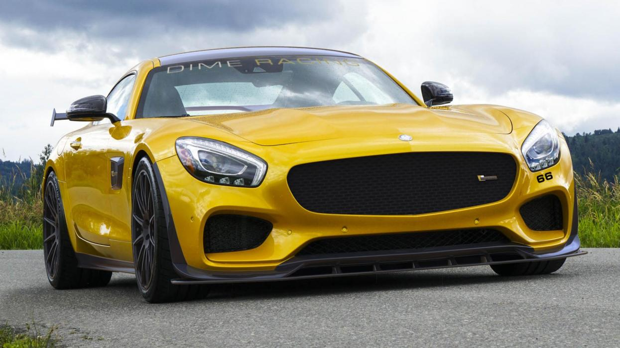 Mercedes-AMG GT Dime Racing superdeportivo deportivo preparaciones tuning amarillo