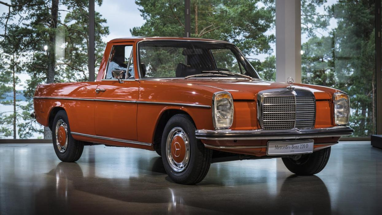 Mercedes W115 pick-up