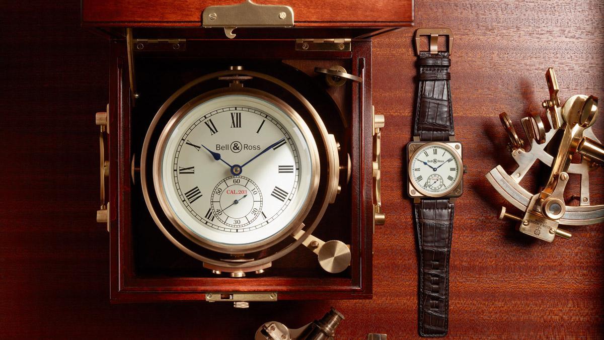Reloj BR01 Instruments de Marine