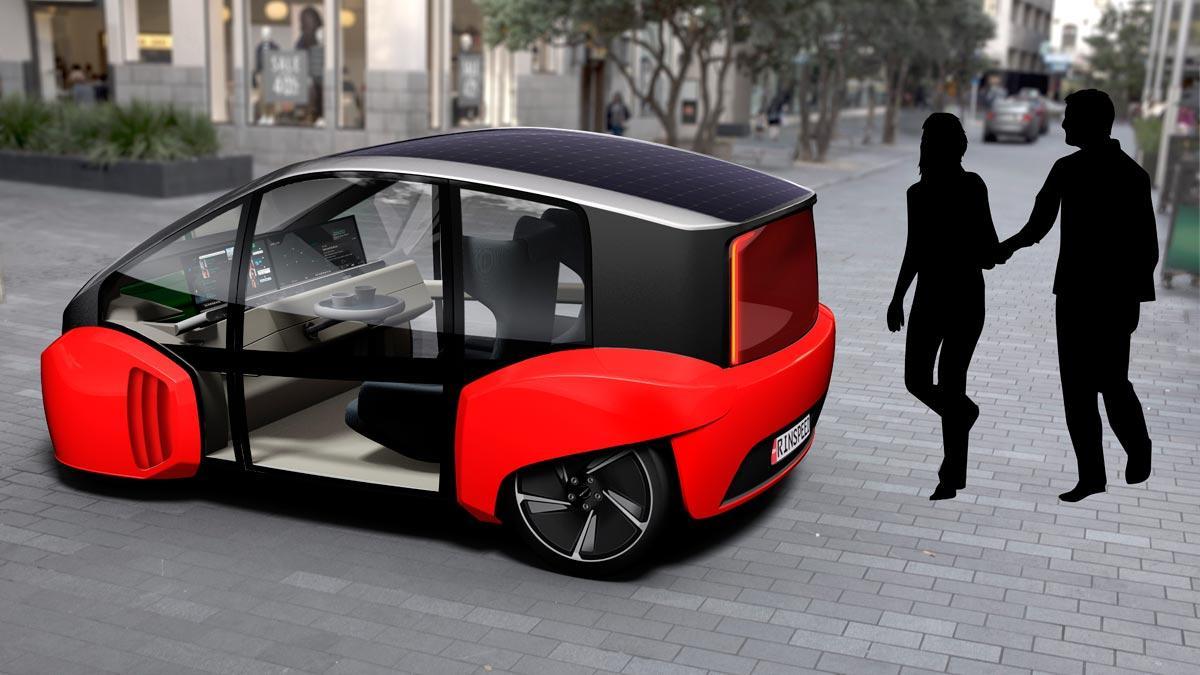 Rinspeed Oasis compacto urbano eléctrico autonomo ciudad futuro