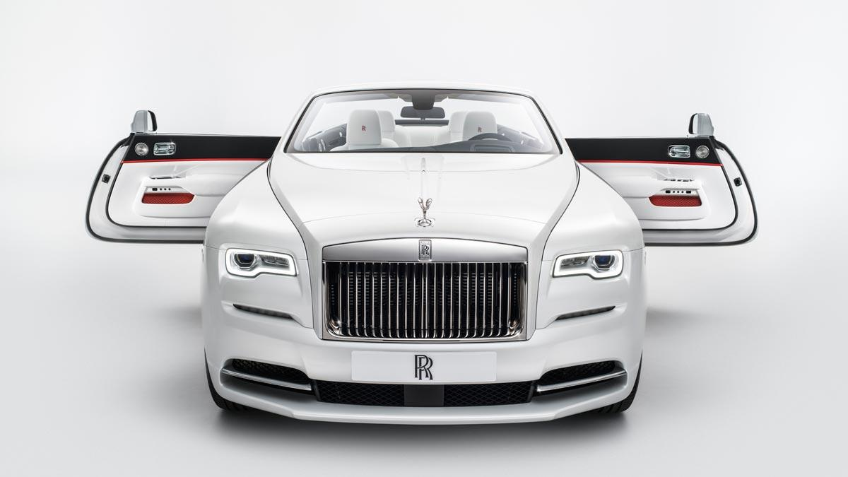 Rolls-Royce Dawn Inspired by Fashion lujo moda personalización superlujo cuero seda