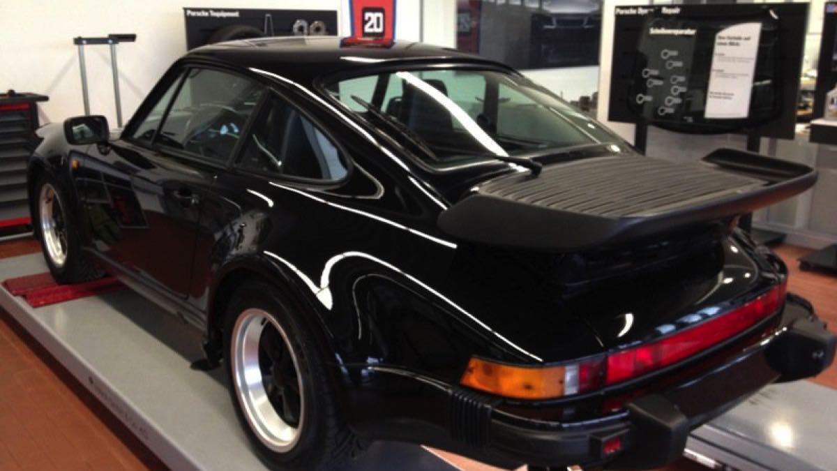 Porsche 930 Turbo S robado