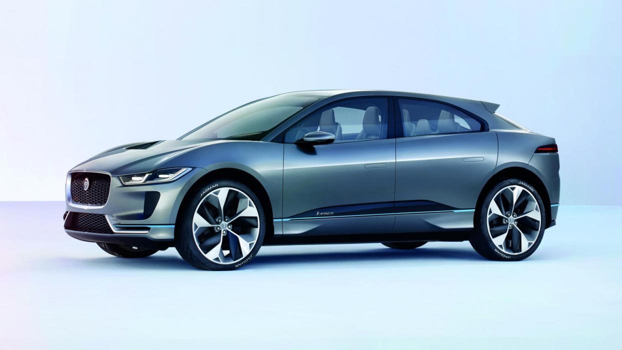 Jaguar I-Pace Concept SUV eléctrico coche futuro todo terreno deportivo