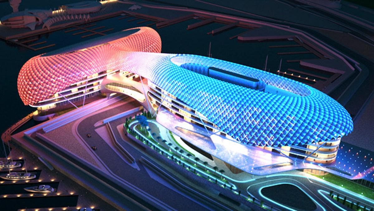 Yas Marina, uno de los circuitos más espectaculares del Campeonato de F1