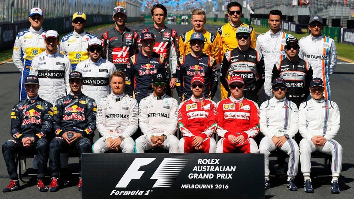Los 10 mejores pilotos de F1 en 2016