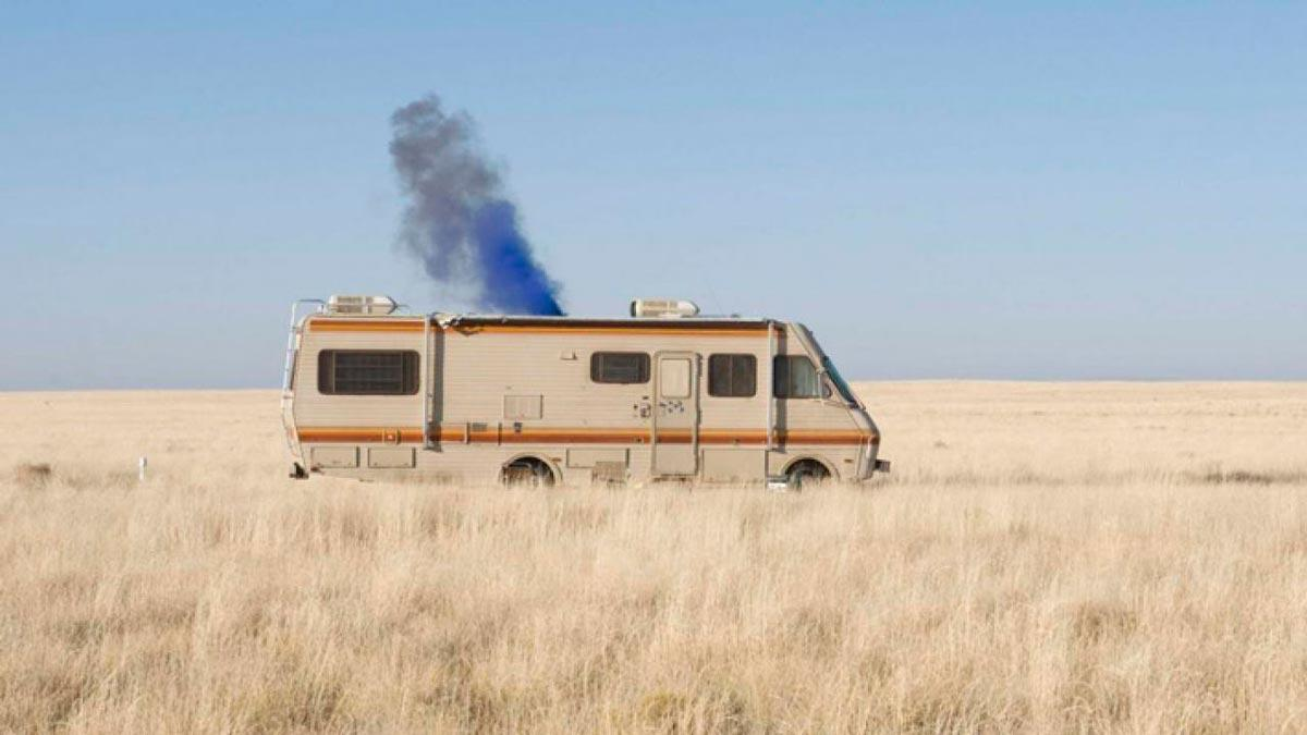 Autocaravana Breaking Bad Walter White coches series